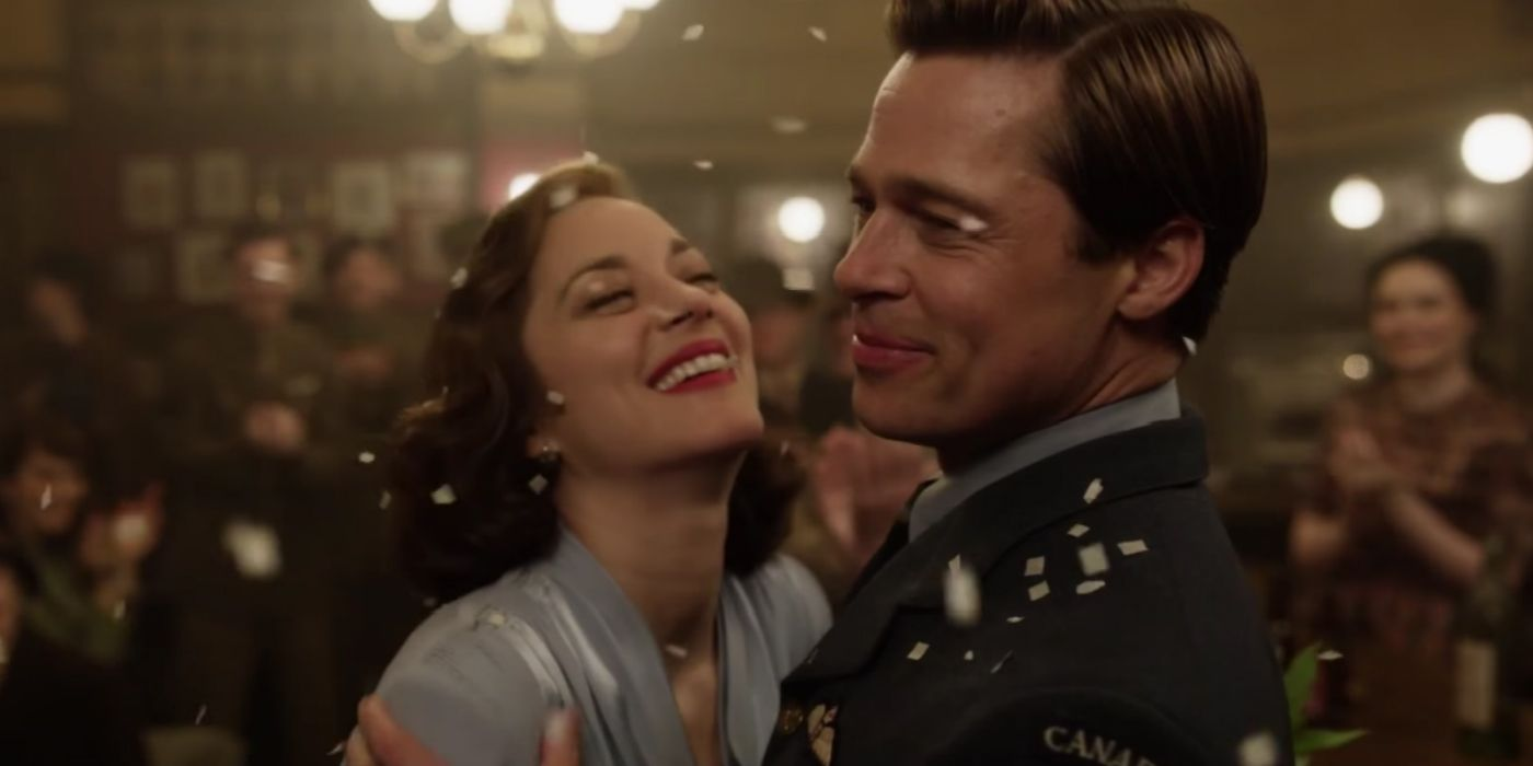 Allied Trailer The War Isn T Over For Brad Pitt Marion Cotillard