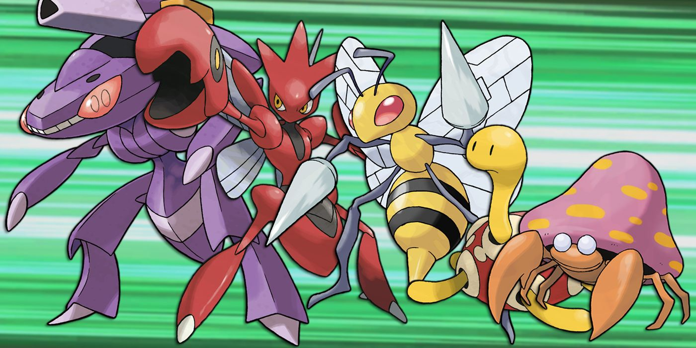 Insect Type Pokemon - Best Image Home In The Word