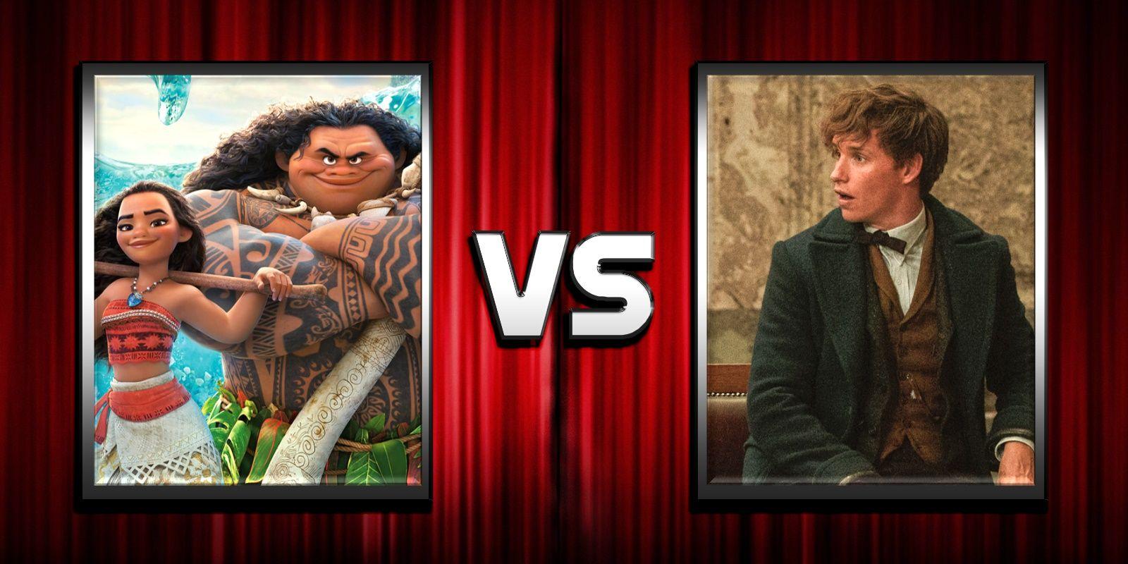 Box office prediction moana vs fantastic beasts screenrant - 2016 box office predictions ...