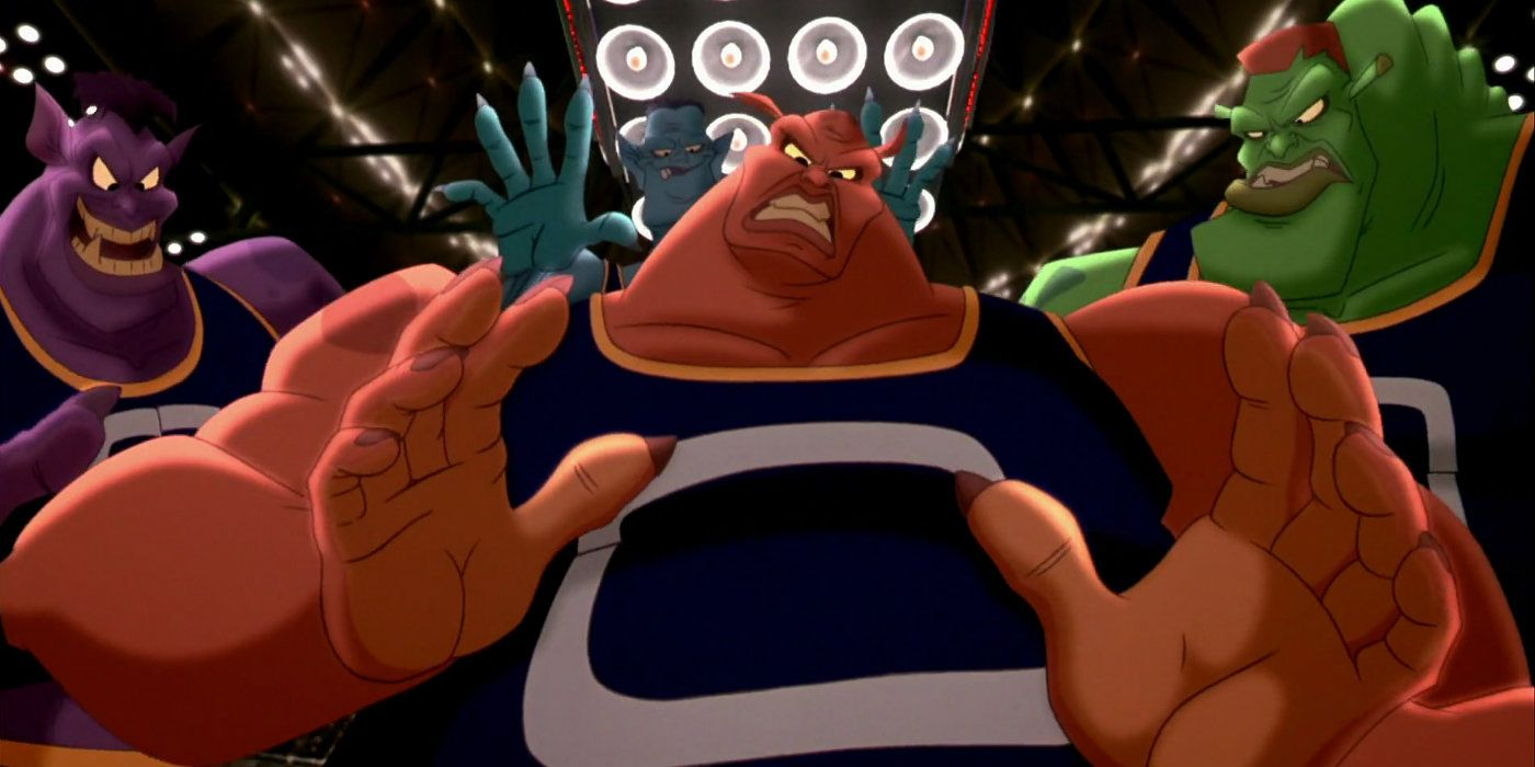 Space Jam 2: How The Monstars Cameo Connects To Original's Villains Ending