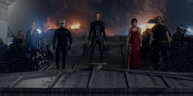 Every Resident Evil Movie In Chronological Order Screen Rant