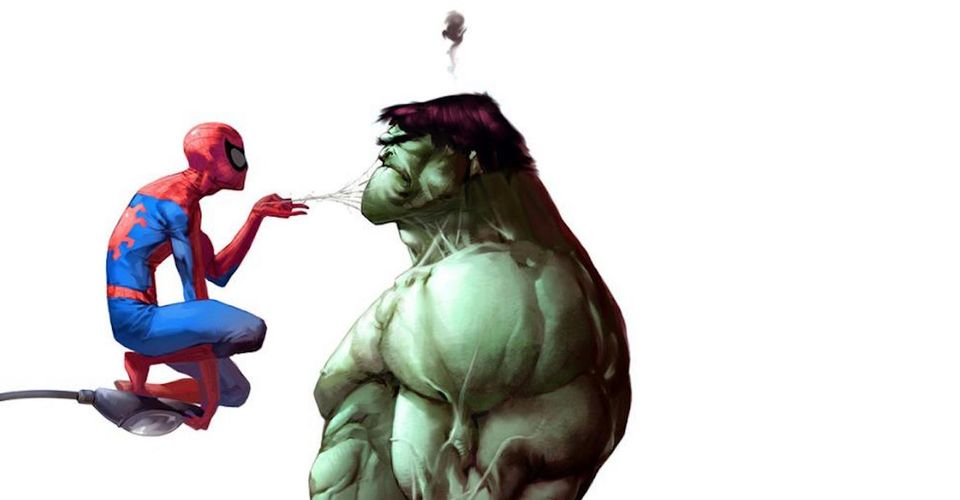 IMAGE(https://static1.srcdn.com/wordpress/wp-content/uploads/2017/02/Spider-Man-and-Hulk-from-Marvel-Comics.jpg?q=50&fit=crop&w=960&h=500)
