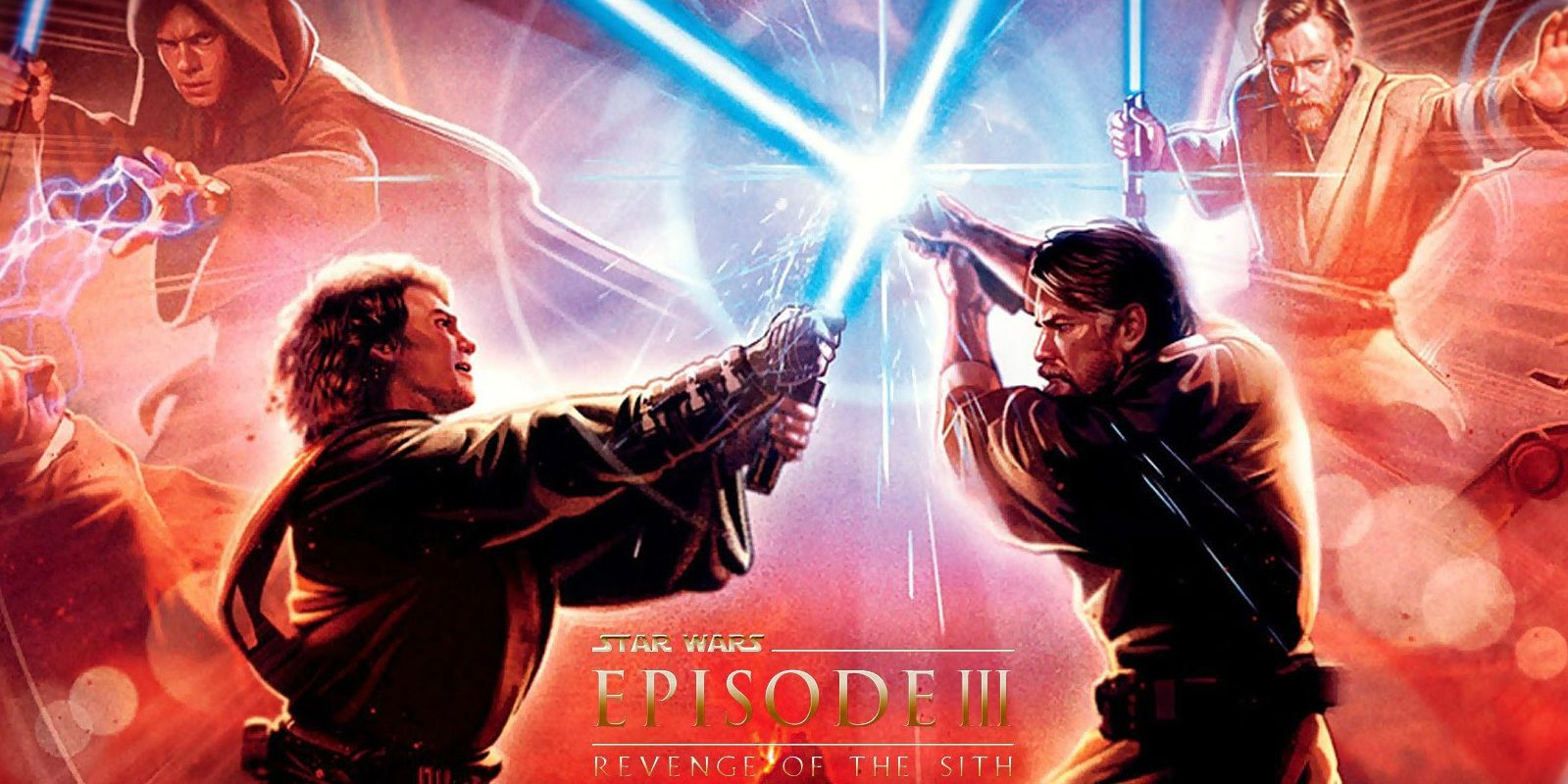 Star Wars Revenge Of The Sith Left Out Its Coolest Lightsaber Battle
