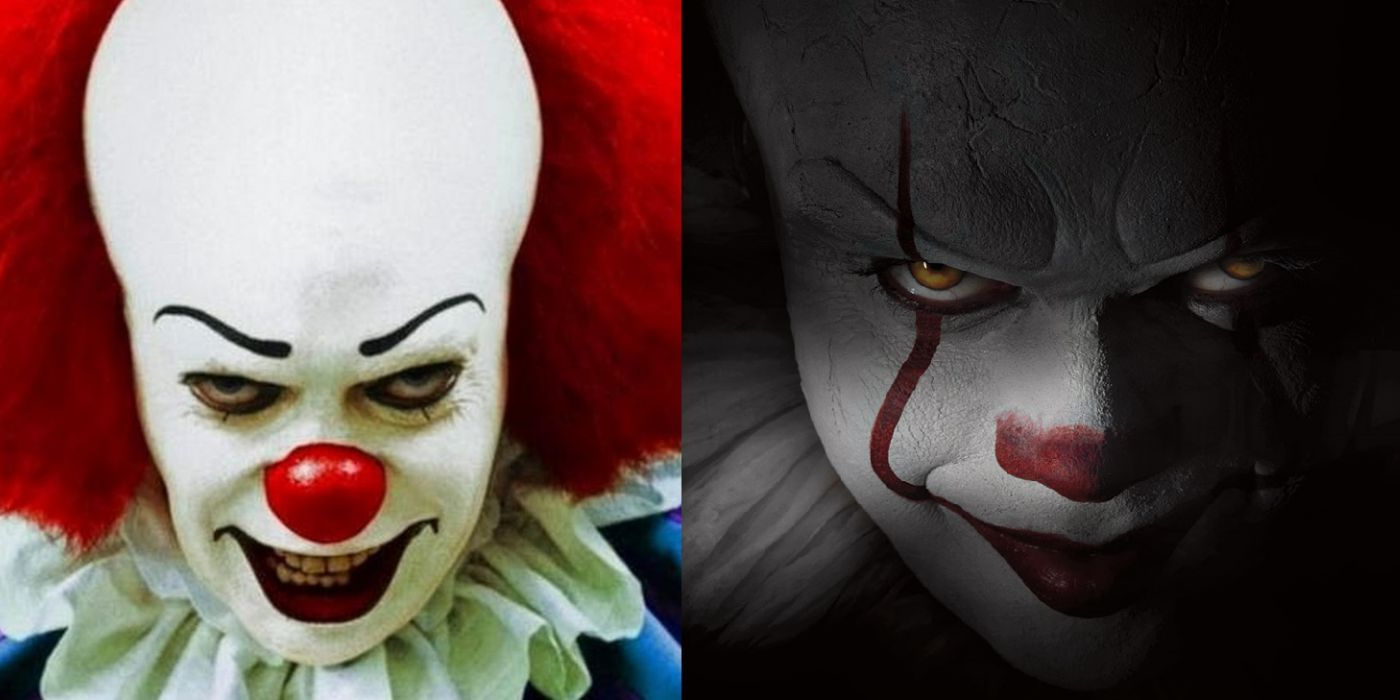 Stephen King's It Finally Becoming a Horrifying Clown ... |Stephen King It Movie