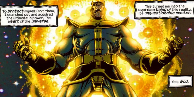 A forma final de Thanos era muito poderosa para aparecer no MCU 1