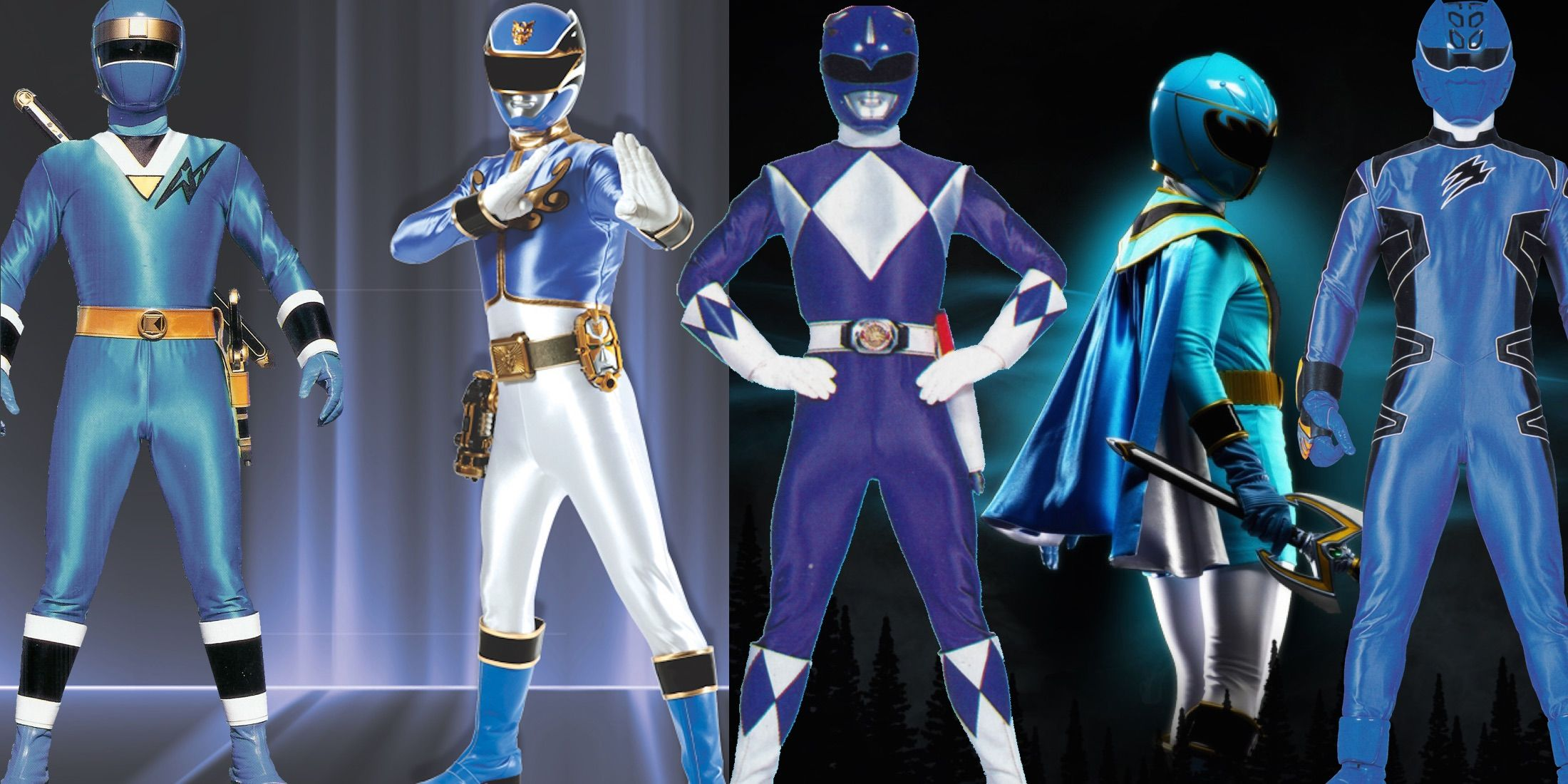 every blue power ranger ranked screenrant