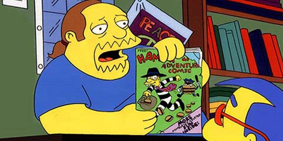 Os Simpsons: 10 coisas que você não sabia sobre o Cara Dos Quadrinhos 1