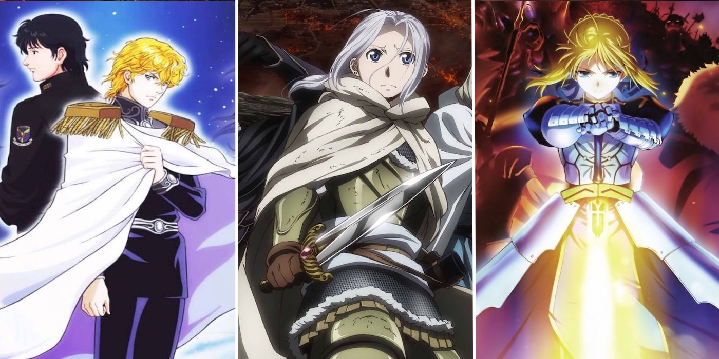 Anime Series Similar To Game Of Thrones