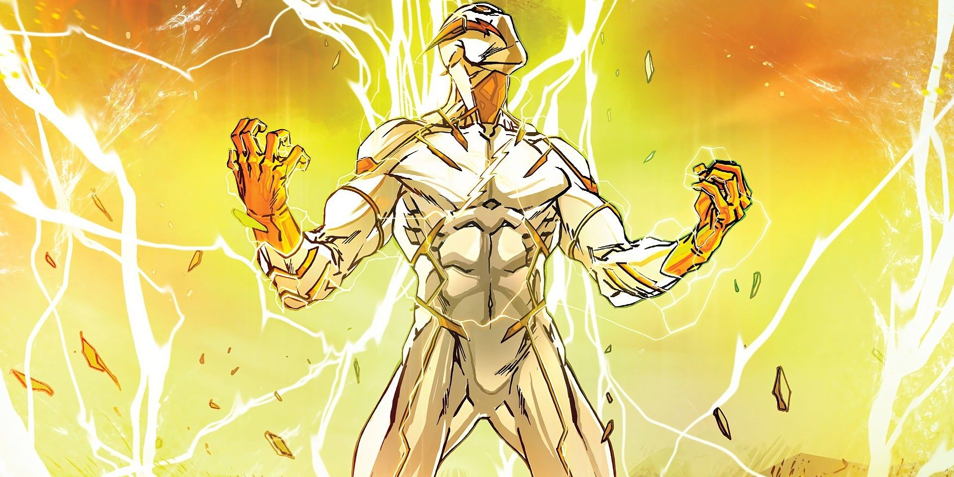 The Flash First Look Images Of Godspeed Revealed Screen Rant