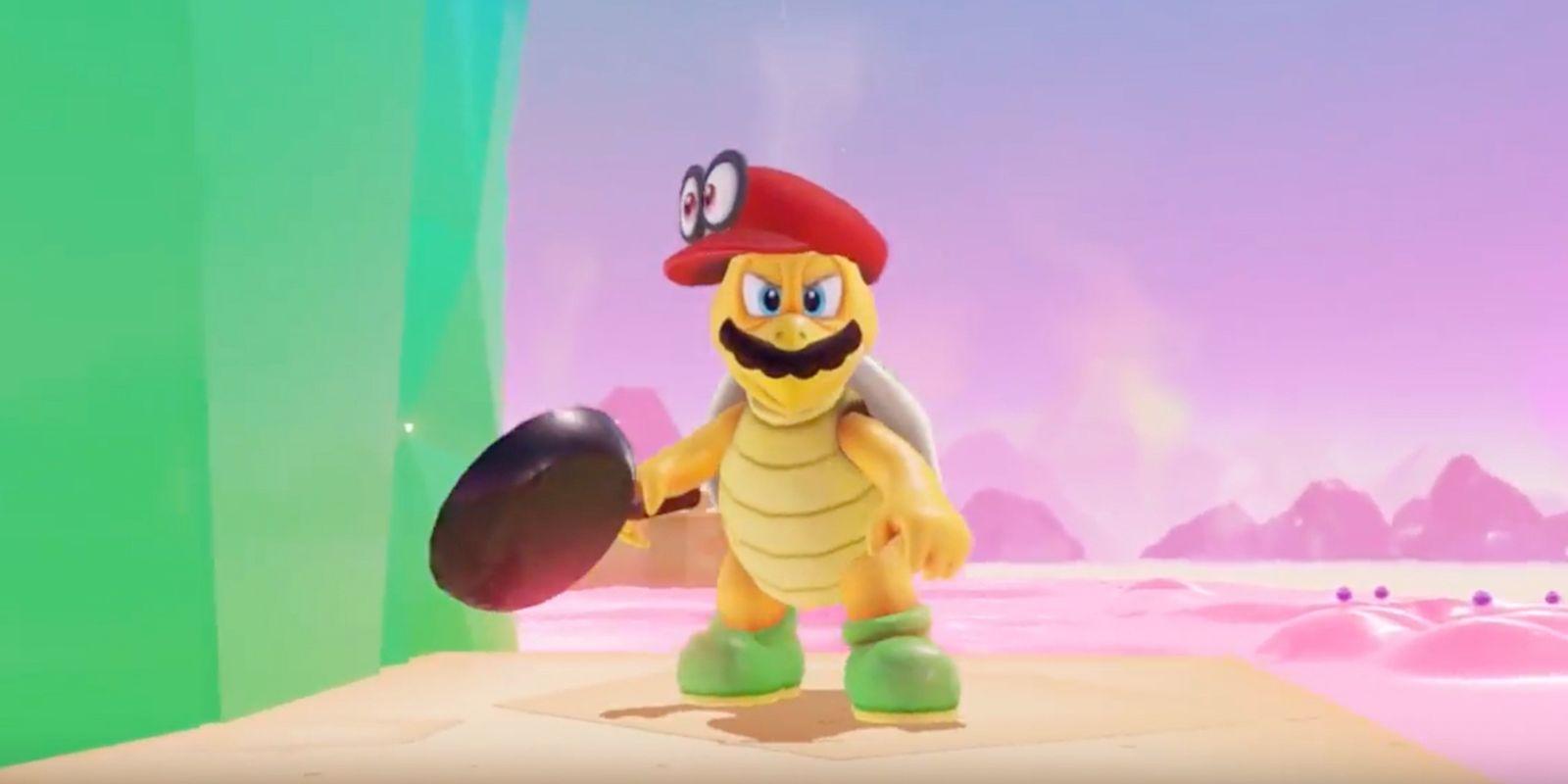 Super Mario Odyssey E3 Trailer Screen Rant