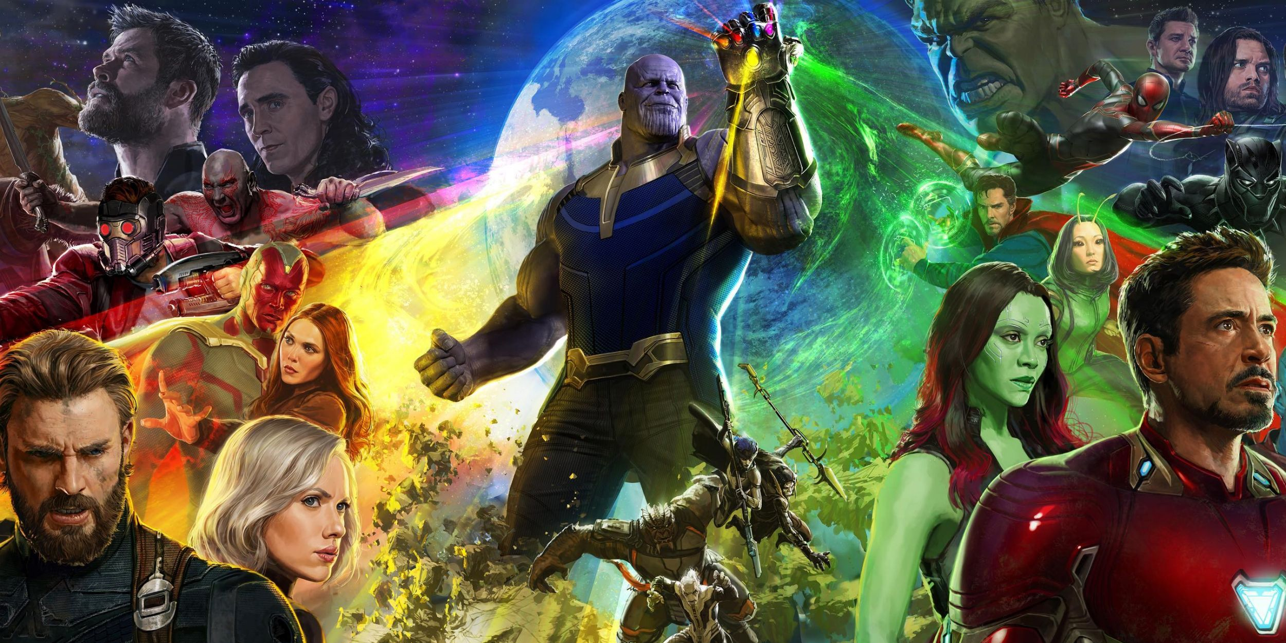 Avengers Infinity War S Sdcc Poster Contained Spoilers