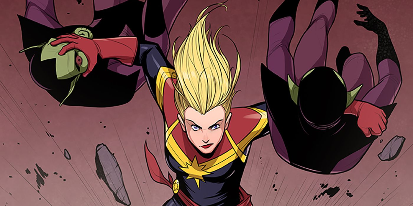 Captain Marvel Skrull Character Details Screenrant