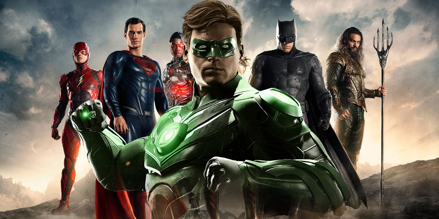 Justice league event confirms green lantern screenrant stopboris Images