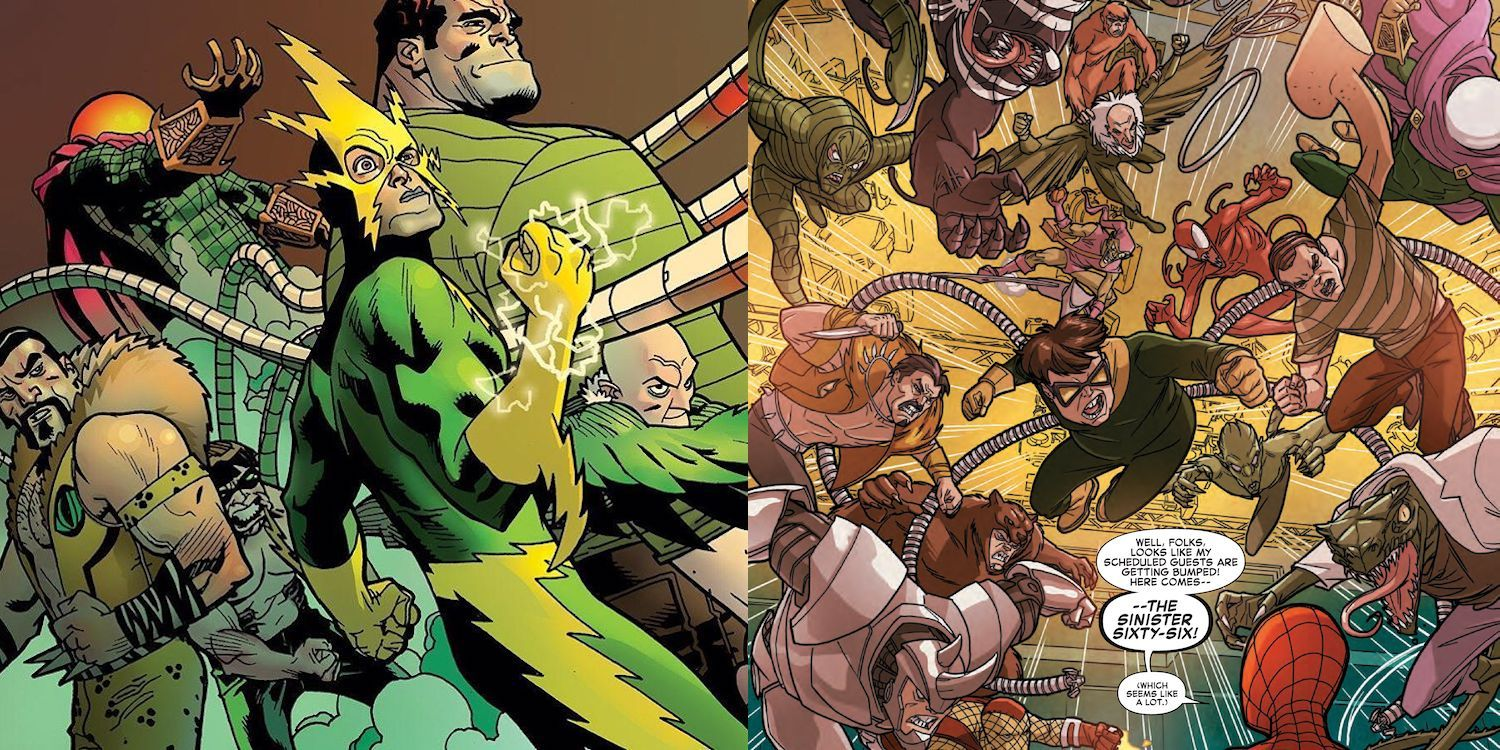 Spider-Man: History Of The Sinister Six   ScreenRant