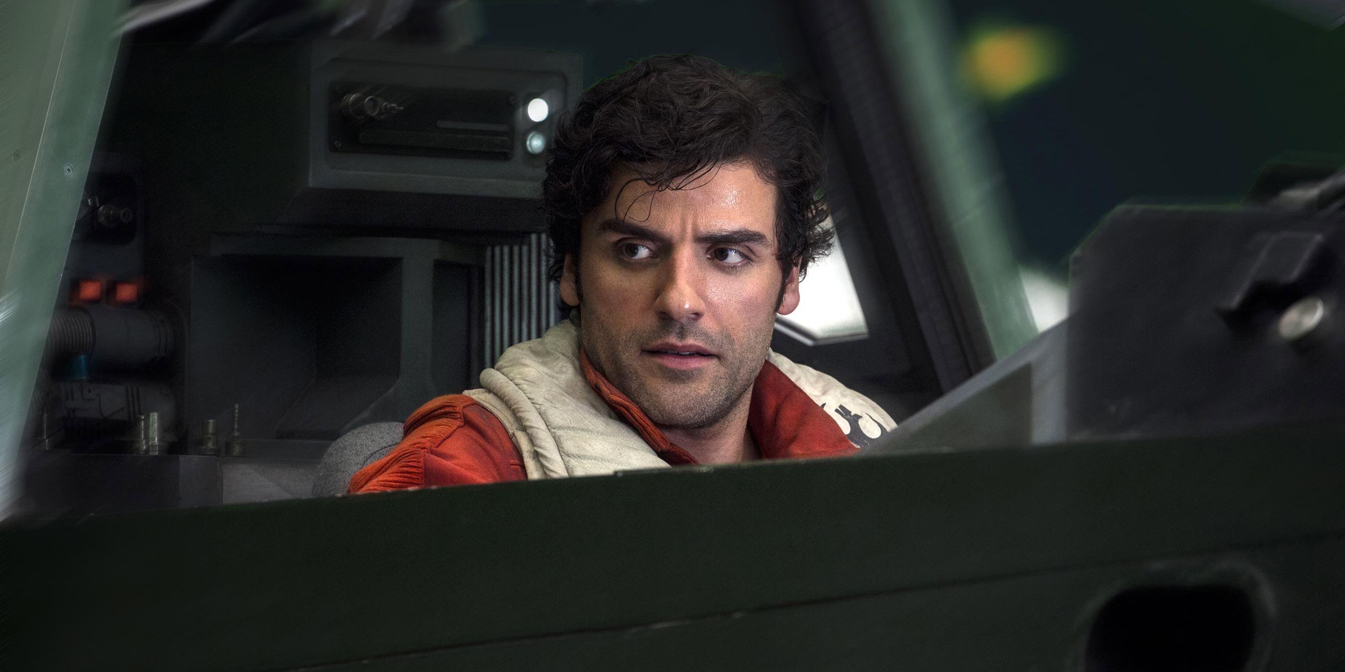 Star Wars: Poe Pilots Millennium Falcon In Rise of Skywalker Image