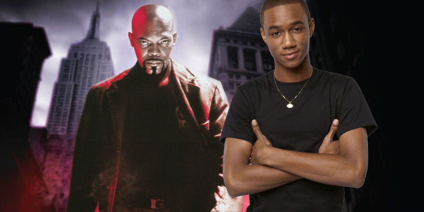 first look at samuel l jackson jessie t usher in son of shaft