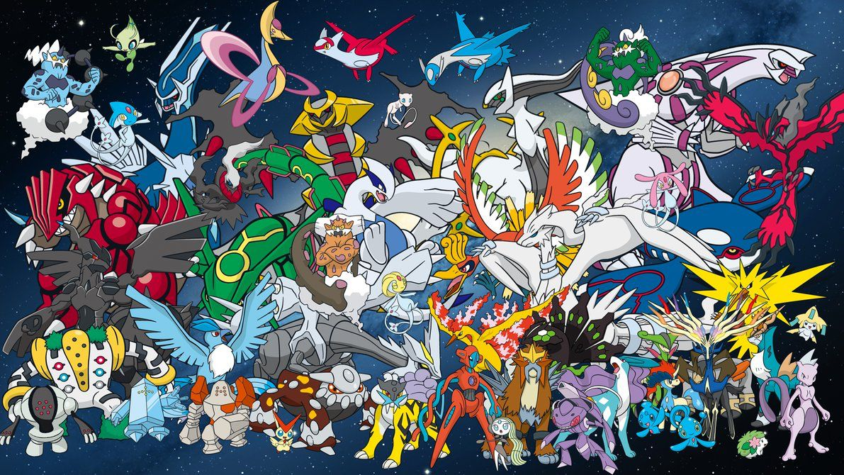 pokemon All legendary