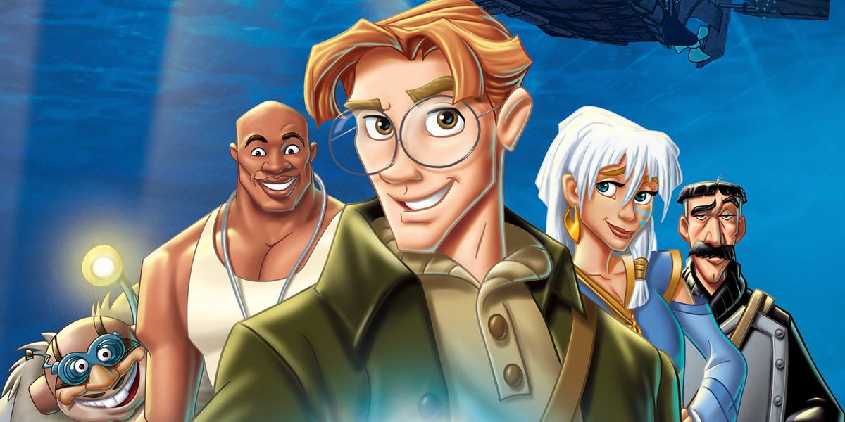 "Resultado de imagem para Atlantis: The Lost Empire"""