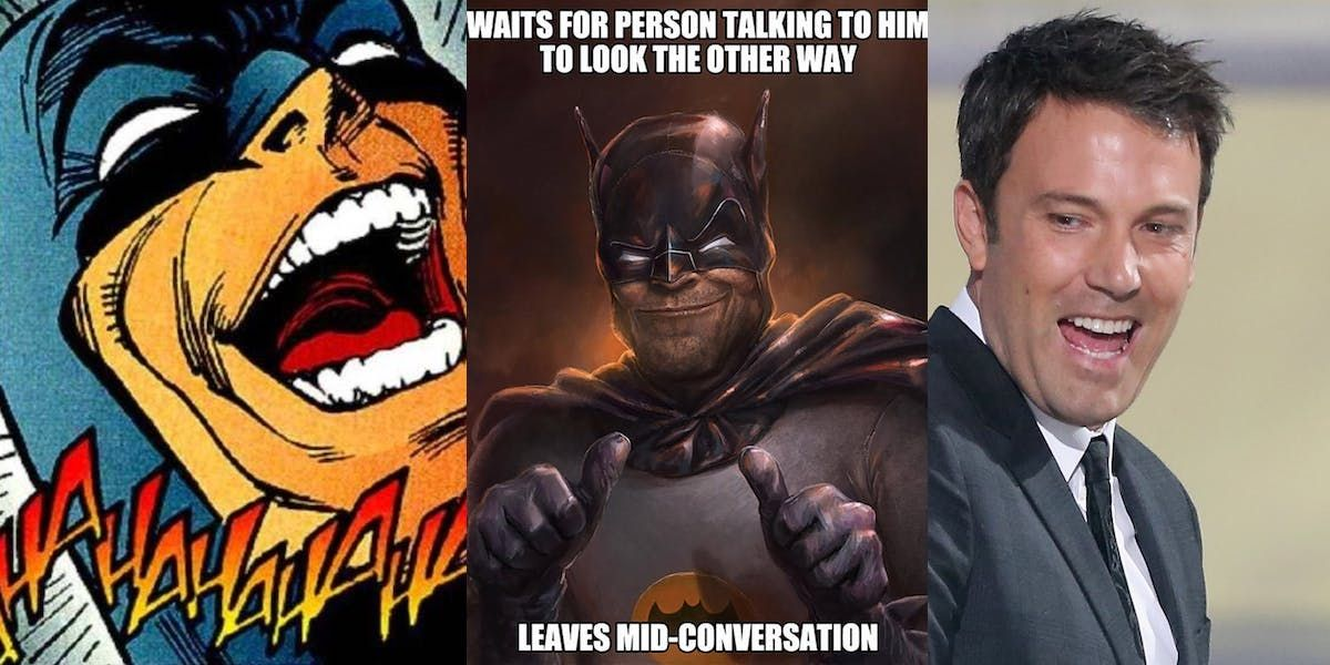 Funniest Batman Memes Thatll Split Your Sides Screenrant