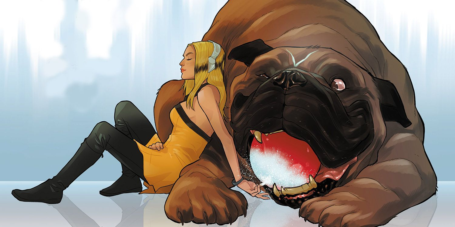 Inhumans Crystal And Lockjaw S Connection And Origins