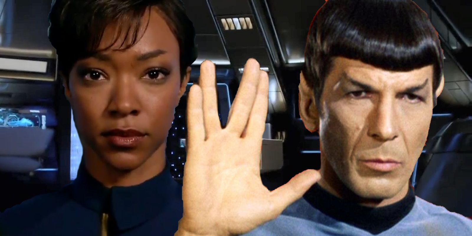 Star Trek Discovery's Spock & Burnham Have Complex Relationship