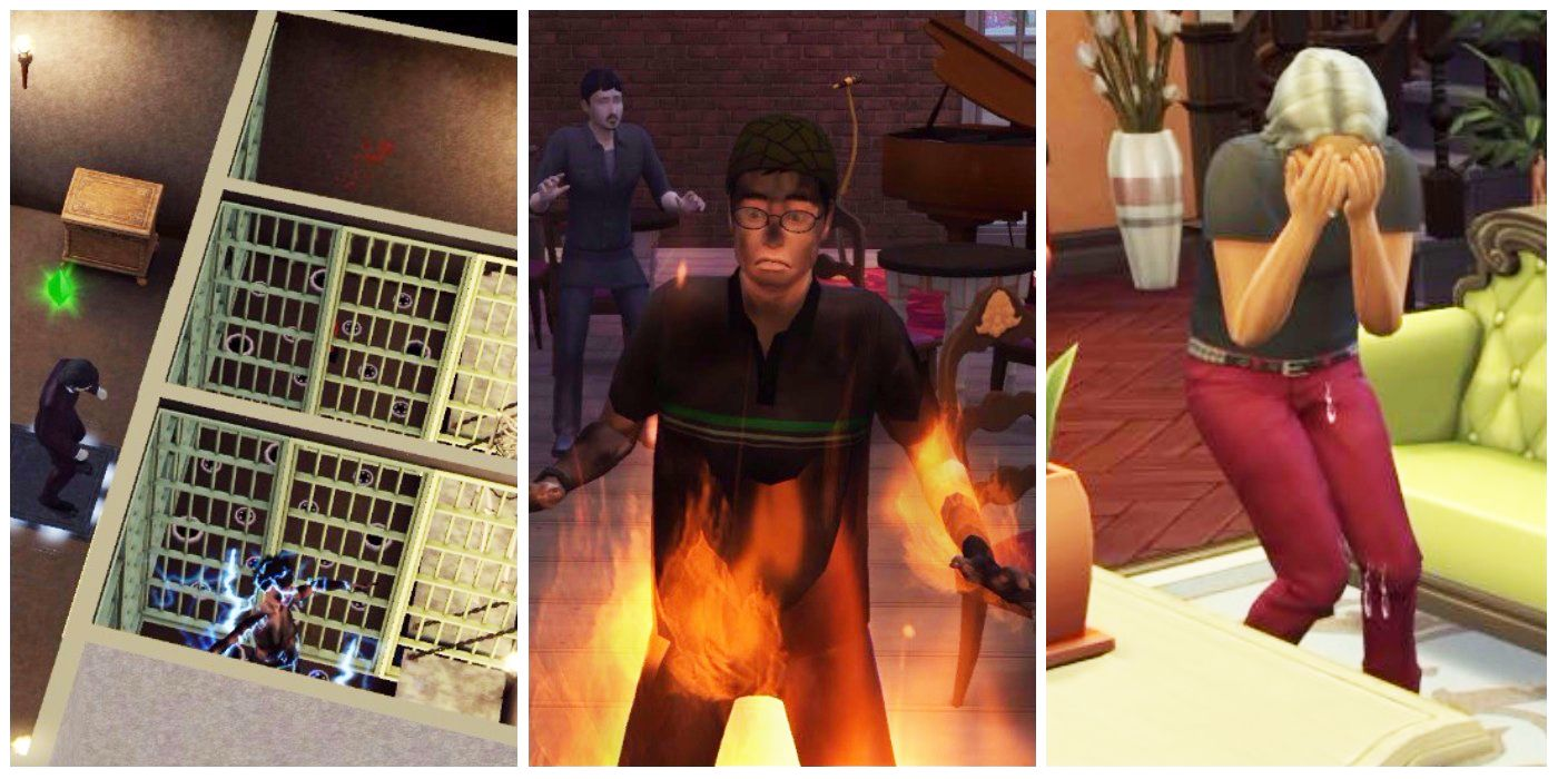 Worst Things People Have Ever Done In The Sims   ScreenRant