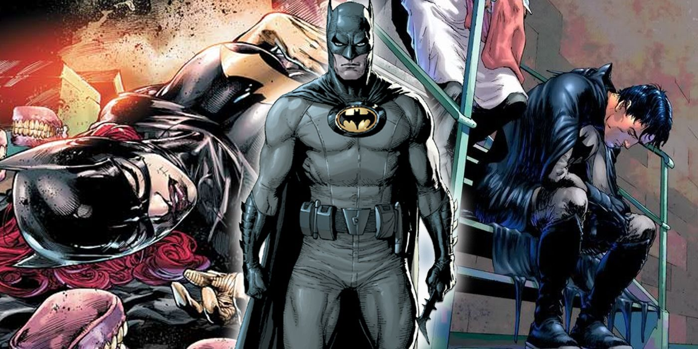 Worst Things Batman Has Done To Bat-Family | ScreenRant