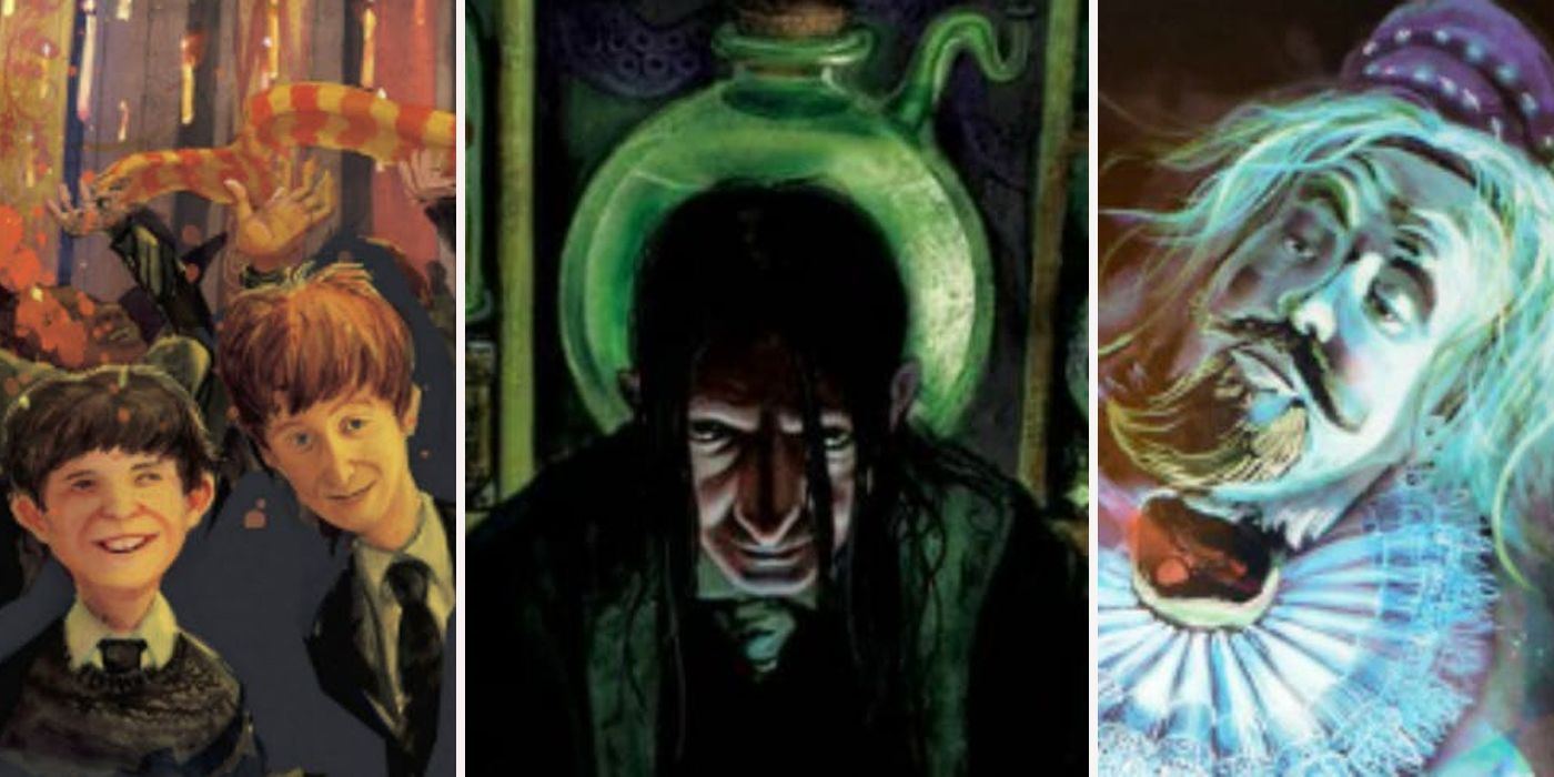 Things J K Rowling Cut From Harry Potter Books | ScreenRant