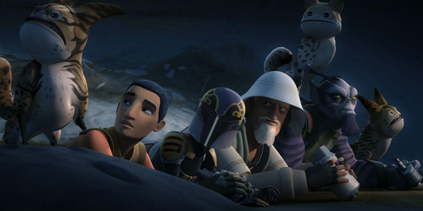 Star wars rebels kanan and ezra fanfiction