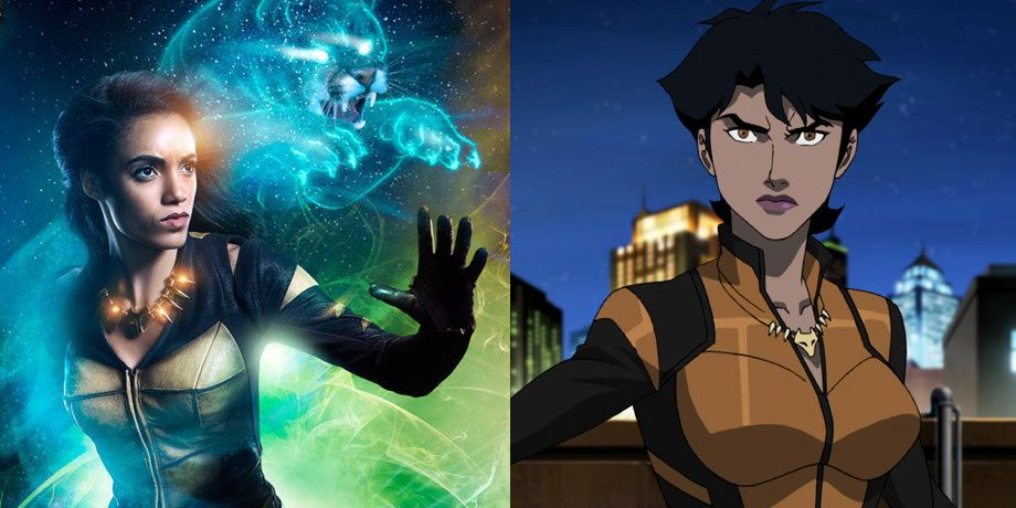 how vixens animated series will affect legends of tomorrow