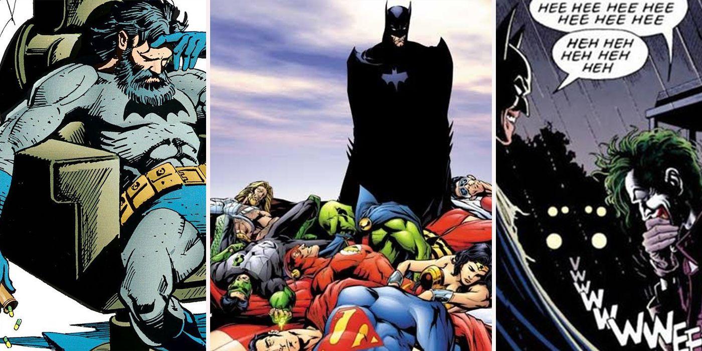 dark secrets batman keeps from his allies