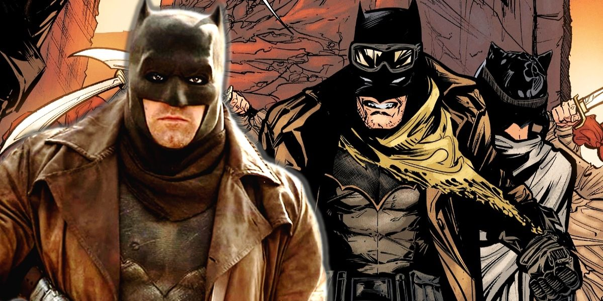 zack snyders knightmare batsuit joins dc canon screenrant