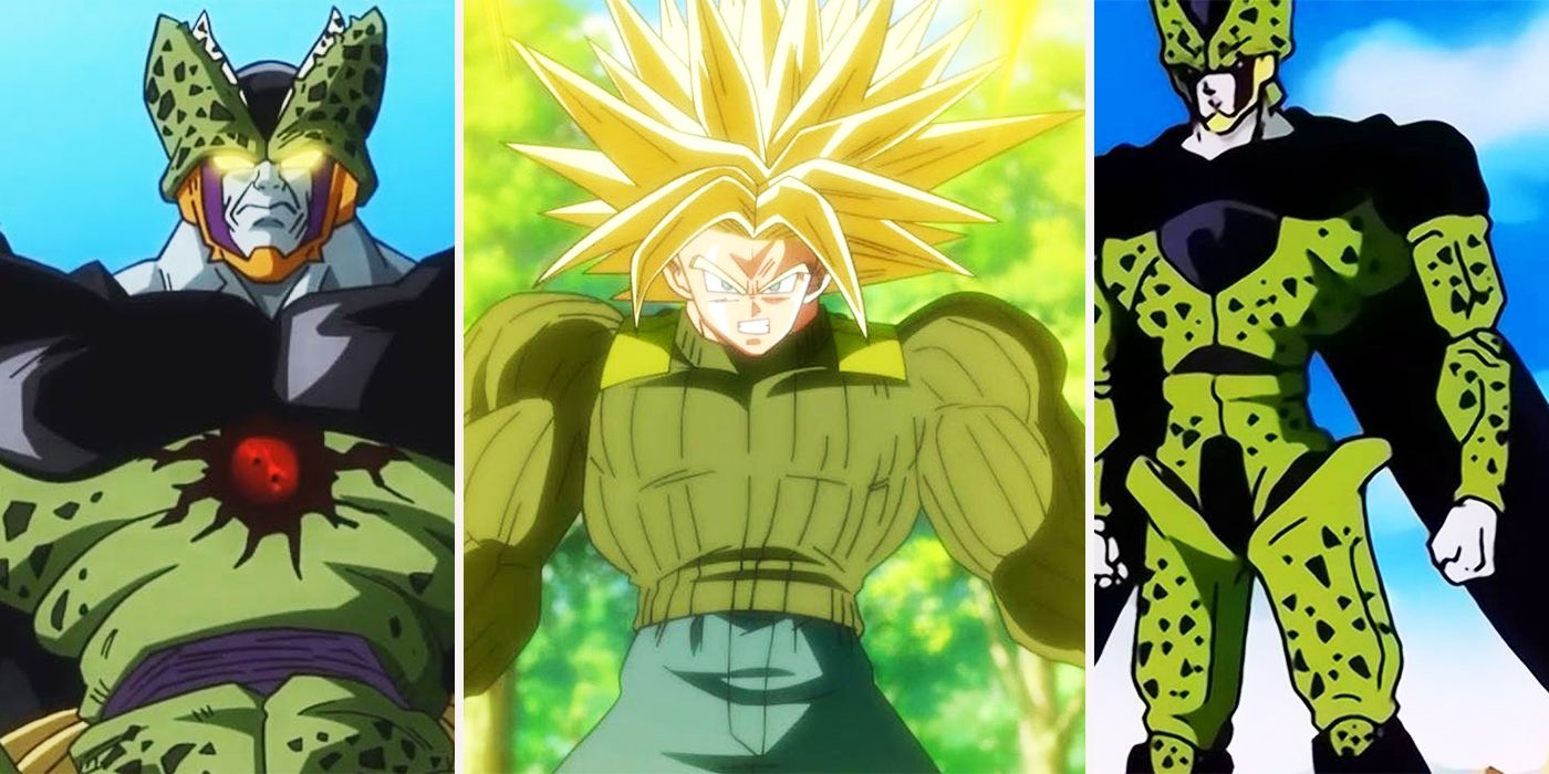 Dragon Ball Every Version Of Cell Ranked Screenrant