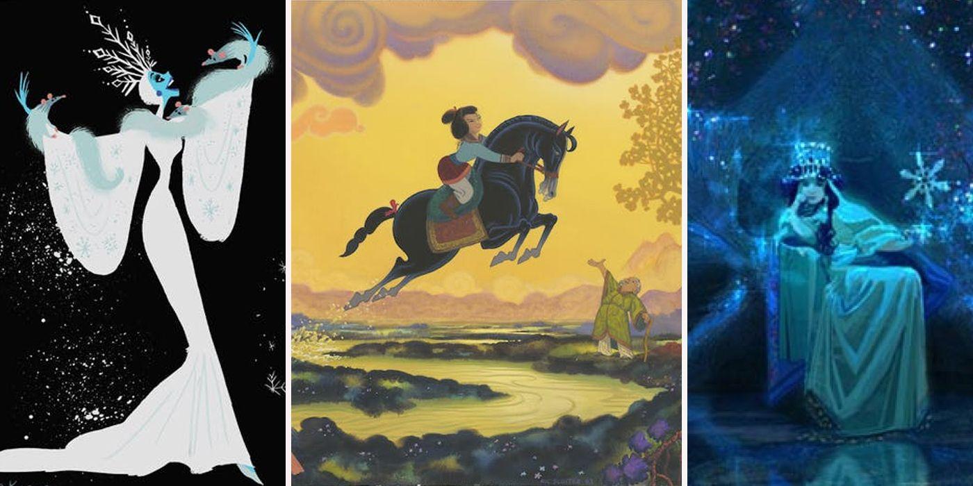 Disney Concept Art Better Than What We Got Screenrant
