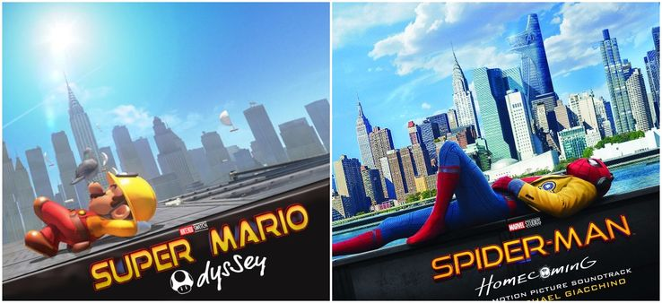 Super Mario Odyssey Gets Spider-Man Poster | Screen Rant