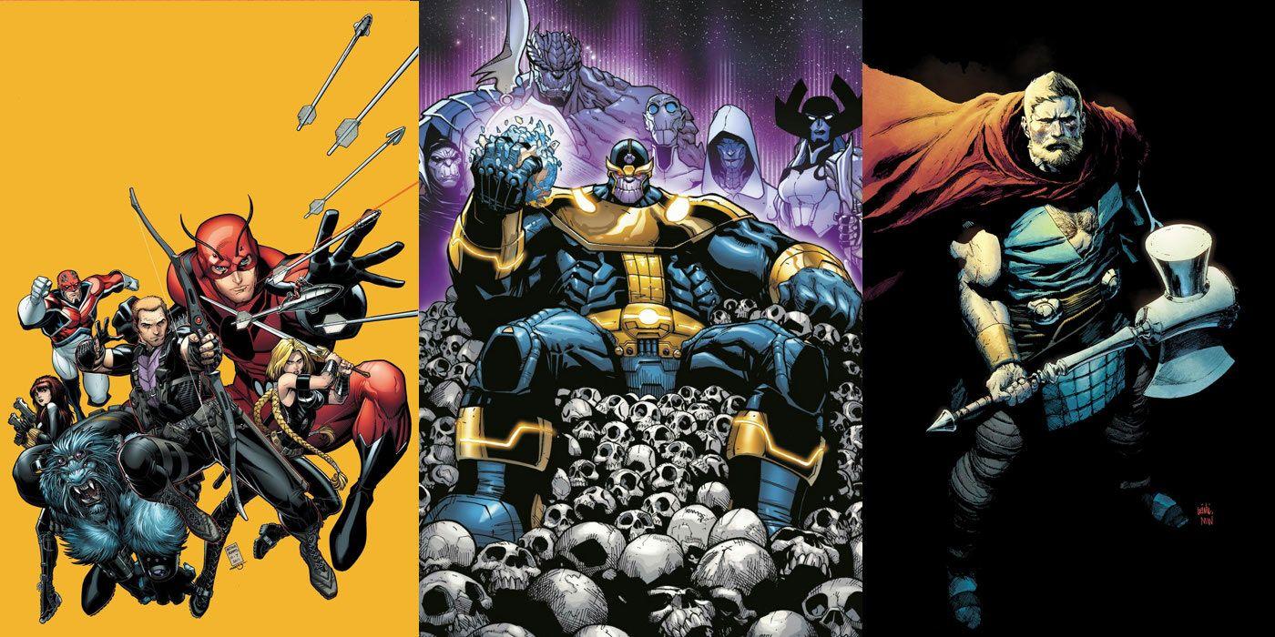 avengers: infinity war's comic book inspirations | screenrant