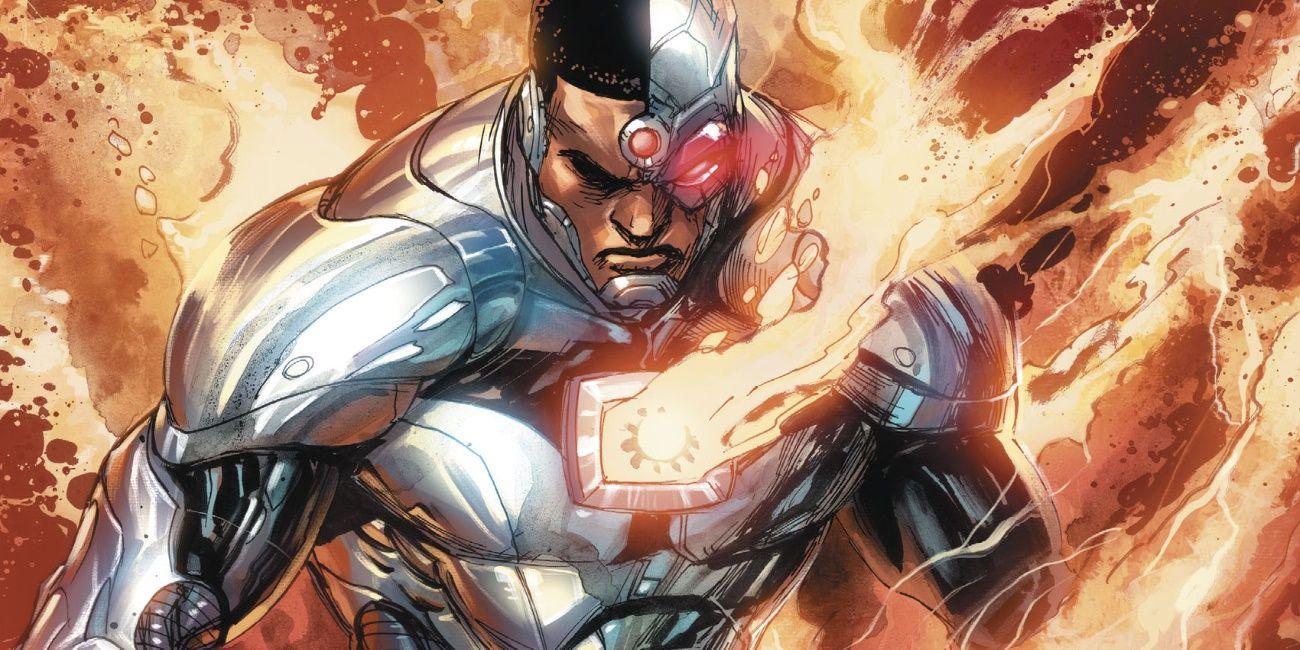 dcs cyborg gets a major metal upgrade screenrant