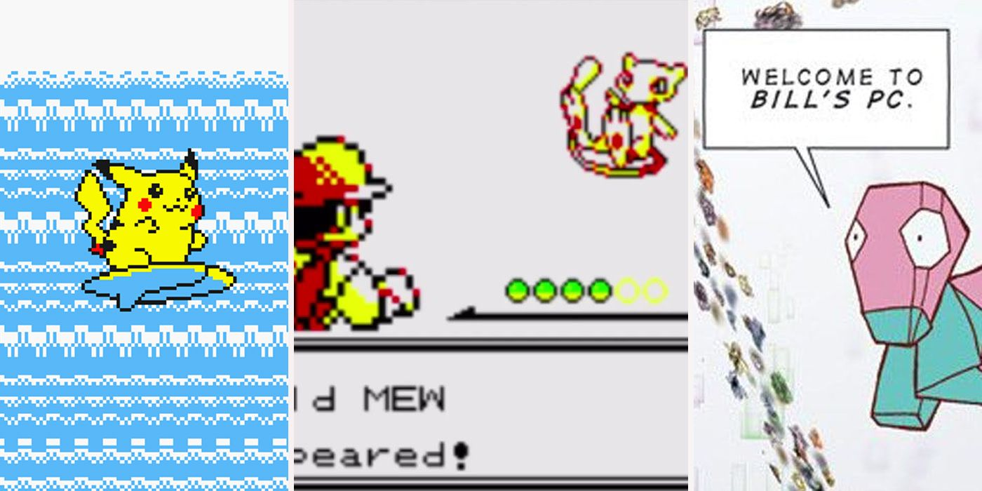 Secret Things You Could Do In Pokémon Yellow | ScreenRant