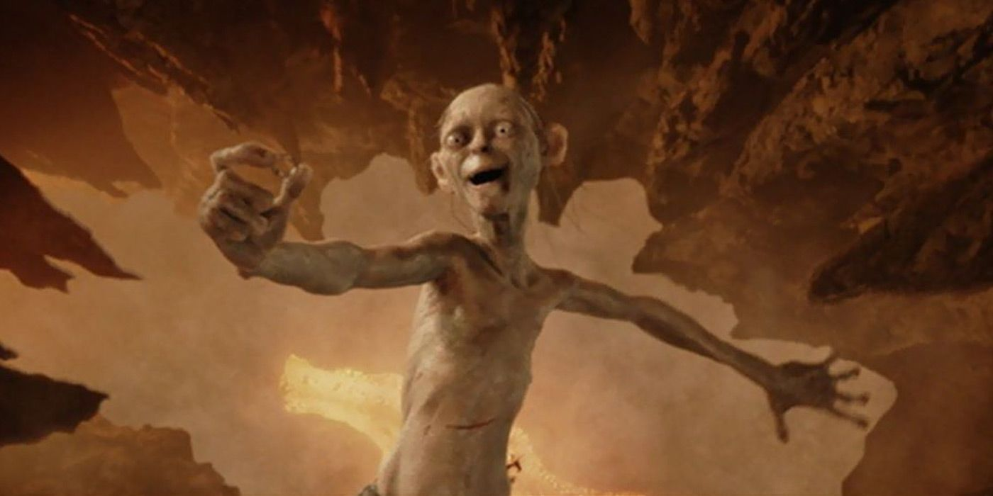 10 Most Interesting Quotes From Lord Of The Rings - قصة عشق Gollum Falling Into Mount Doom