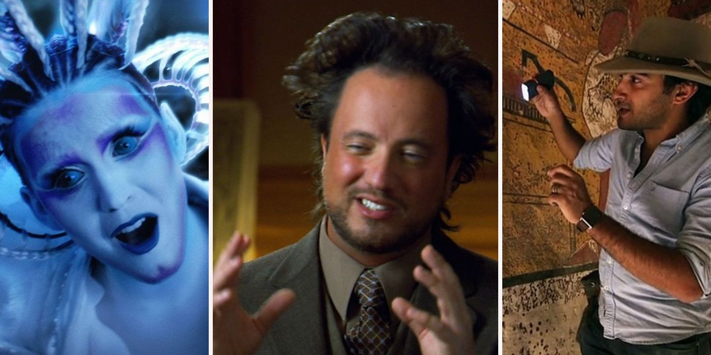 Behind-The-Scenes Secrets You Didn't Know About Ancient Aliens  Behind-The-Scen...