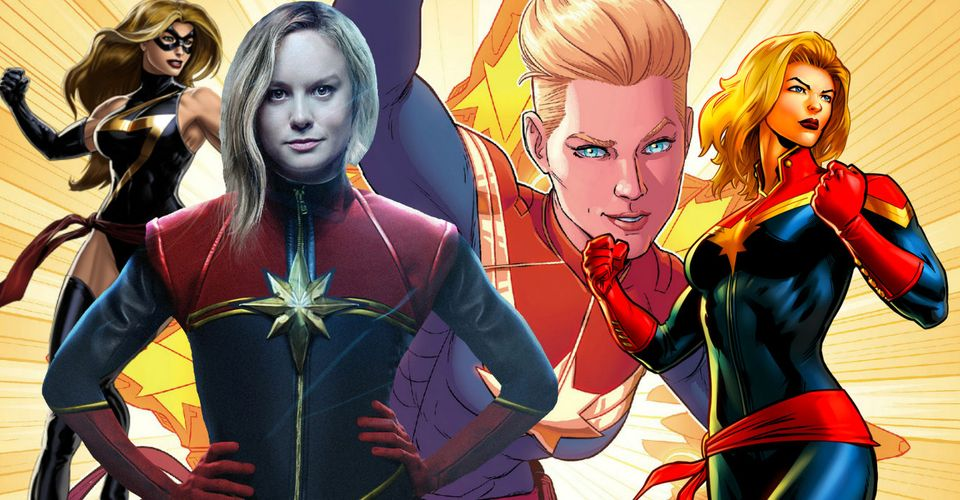Captain Marvel S Evolution Based On Every Costume She S Worn So revisit the most legendary looks, from cap's marvel knights days to his journey as nomad, in this comprehensive countdown of the top 10 captain america costumes in history! captain marvel s evolution based on