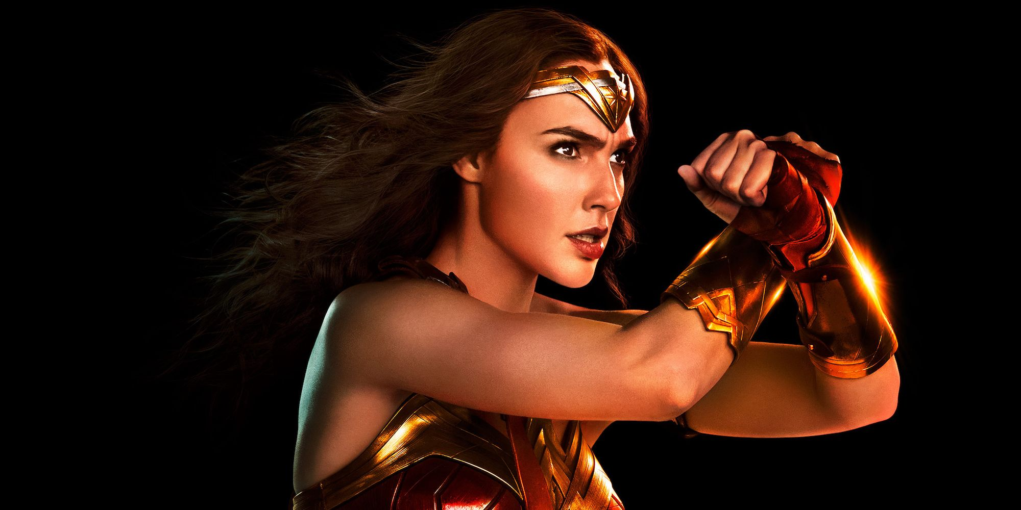 It's just a graphic of Wild A Picture of Wonder Woman