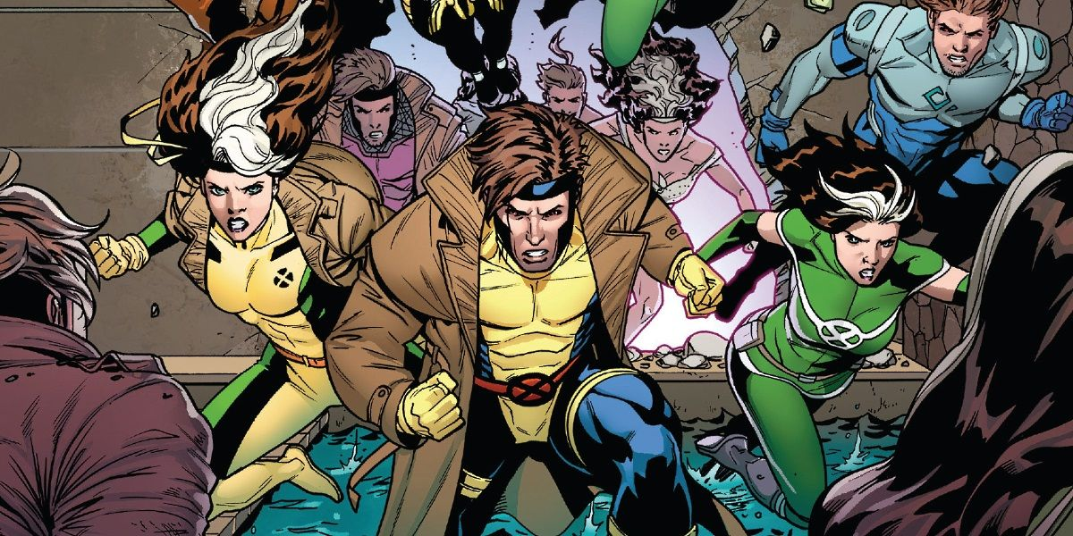 Gambit & Rogue Clo...