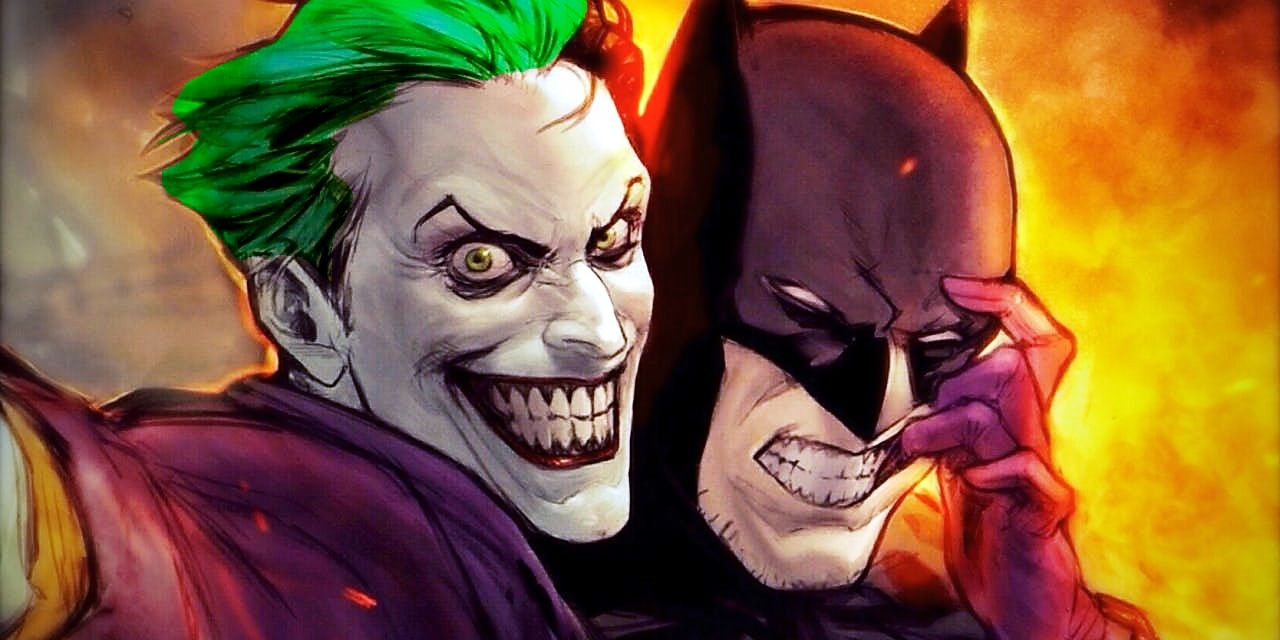 Batman pictures the joker from of