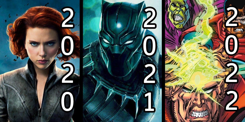Marvel Filme 2020