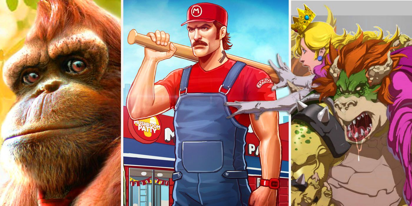 cd0b69b10 20 Crazy Fan Redesigns of Mario Characters
