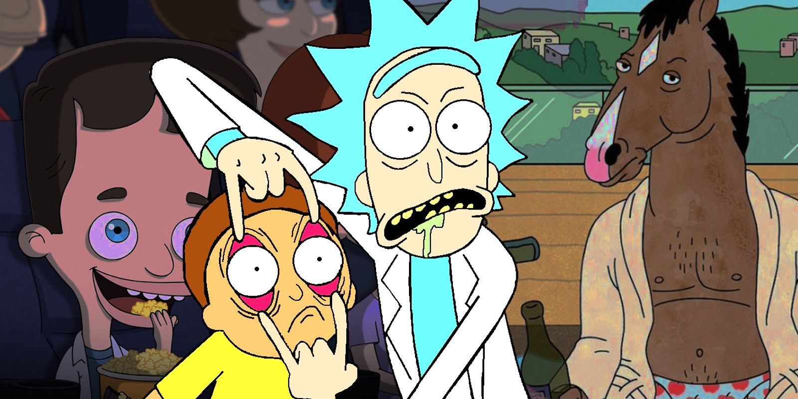 Rick and morty toon