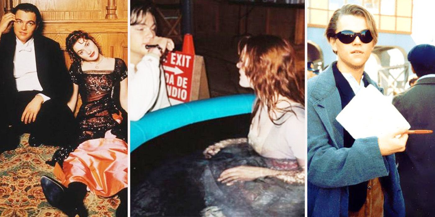 17 crazy behind the scenes secrets from titanic screenrant - Was the titanic filmed in a swimming pool ...
