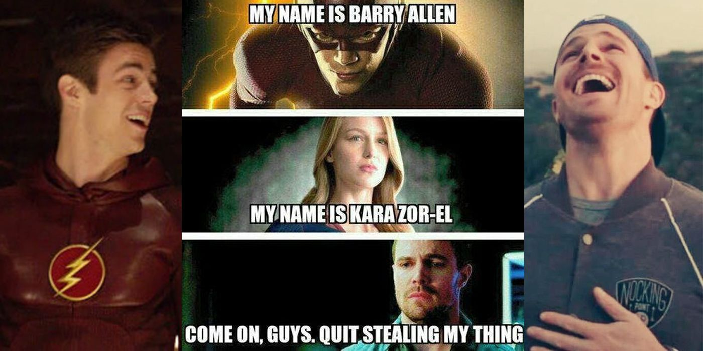 20 Hilarious Arrow Vs  Flash Memes That Will Make You Cry Of