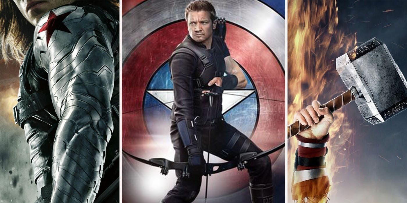 15 Avengers' Weapons, Ranked Weakest To Strongest